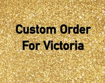 Custom Tshirt Order for Victoria