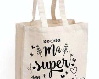 """Godmother """"Ma Super godmother"""" bag Tote"""