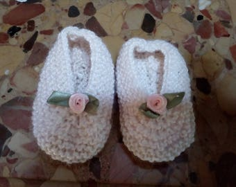 Adorable ballerina slippers