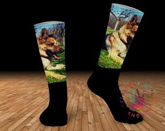 Photo Socks | Custom Printed Socks | Picture Socks | Photo Gift | Pet Sock | Portrait Sock | Gift for Her | Gift for Him | Personalized Sock