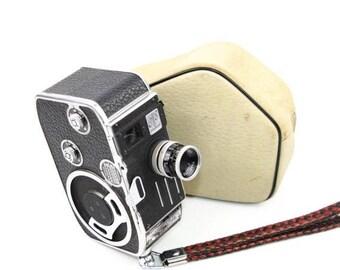 Limited time offer Bolex-Paillard E8 Film Camera with Yvar 13mm f/2.5 12.5mm Lens