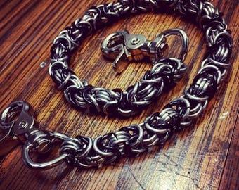 """Byzantine 22"""" Wallet Chain"""