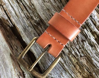 All-Natural Leather Belt