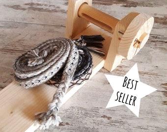 Alquerque antico gioco da tavolo in legno con pedine di vetro - Telaio da tavolo per tessitura a mano ...