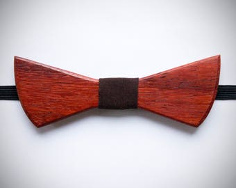 Wooden bow tie for mens and boys