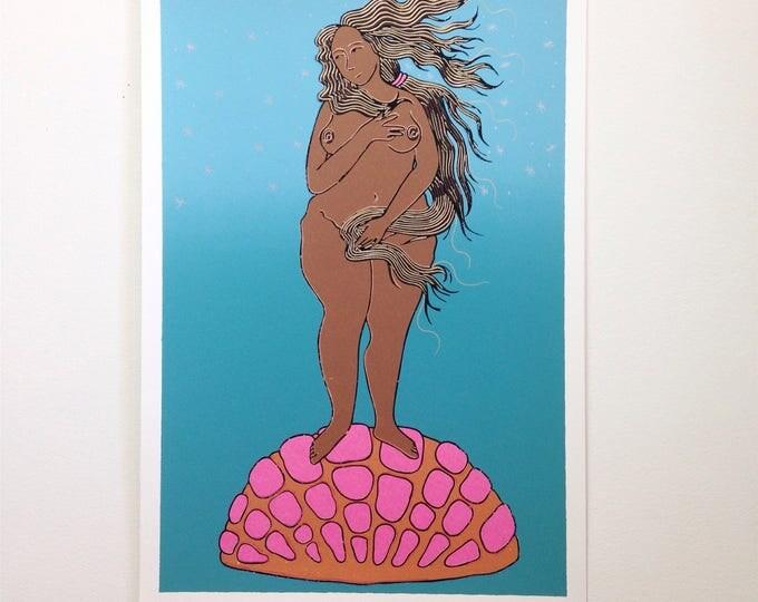 Venus con Concha print
