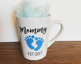 Mommy or Daddy Est. Mug