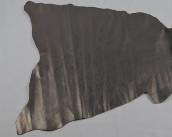 Silver goat leather skin (9280015)