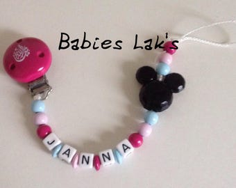 Mickey pink pacifier