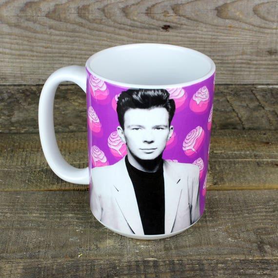 Rick Astley 80s Mug