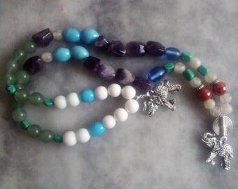 Happy Mala necklace