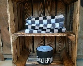 Badregal with chrome feet, bathroom cabinet, cabinets, Badregal, wooden shelf, bathroom shelf, towels, Handtücherregal, toilet cabinet