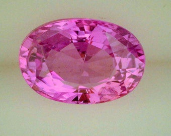 Sapphire Pink 2.79 cts/Oval/Natural/No Heat/Gem Quality/AGL Report