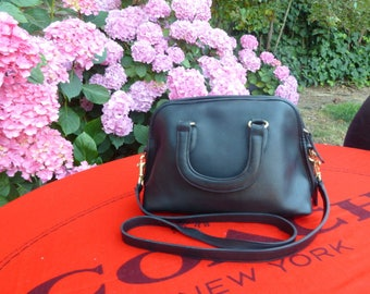 Vintage Coach Baxter Satchel 9903 -  Top Handle with Shoulder / Crossbody Strap - Made in USA (Dustbag Included)