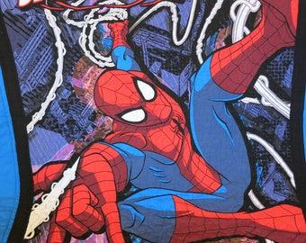 Gift for boy, Spider Man Quilt, Spider Man Blanket, Spider Man Wall Hanging
