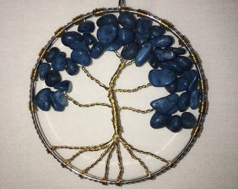Blue Stone Chip Tree of Life