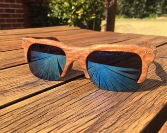 """Limited Edition - Wooden Sunglasses - """"Angus"""" - UV400"""