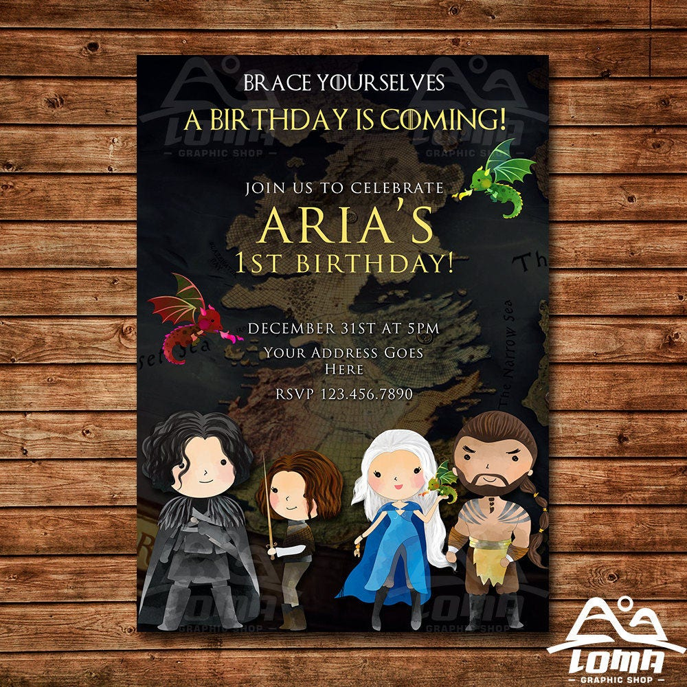 Game of thrones invitation game of thrones birthday got invitation game of thrones invitation game of thrones birthday got invitation got birthday filmwisefo Choice Image