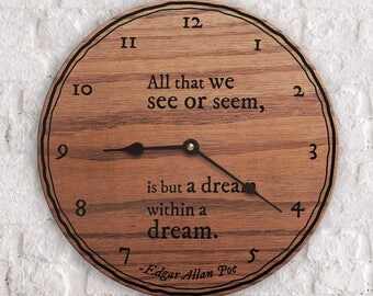 Popular Poems - Famous Poems - Best Poems - All That We See or Seem Is But A Dream Within A Dream - Edgar Allan Poe Quote