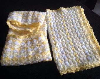 Baby blanket set of 2
