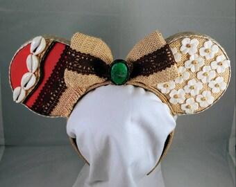 Moana- Heart of Tafiti Minnie Mouse Ears