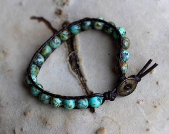 Bracelet of African Turquoise