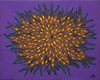 Modern painting: Pistil.