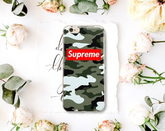 Supreme fashion stylish iPhone Case Red SLouis Vuitton iPhone 7 plus Case iPhone 6s Case iPhone 7 Case fashion case iPhone 6S Plus YI047