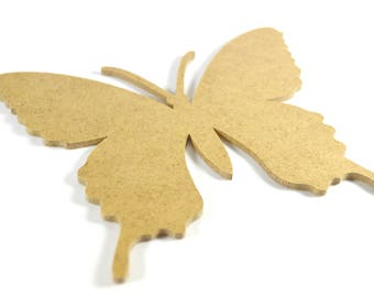 Small Butterfly in firewood - paint or decorate