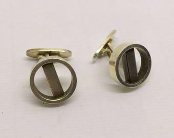 GEORG JENSEN sterling silver cufflinks #147