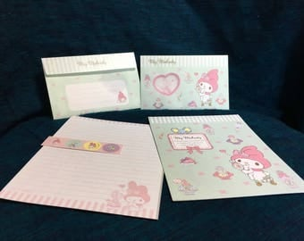 Sanrio My melody stationery set from japan