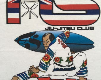 Vintage Jiu Jitsu club shirt-Martial arts