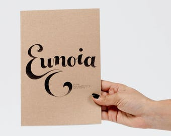 Eunoia notebook / sketchbook / diary