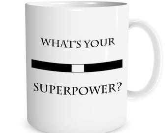 Catholic Priest What's Your Superpower? Ceramic Mug
