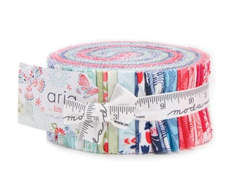Aria Jelly Roll by Kate Spain for Moda Fabrics - Moda Jelly Roll - Kate Spain Jelly Roll - Aria Jelly Roll - Jelly Rolls Fabric - Jelly Roll