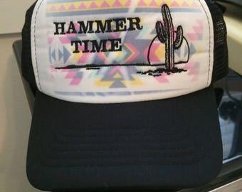 Hammer Time Desert Snapback Cap