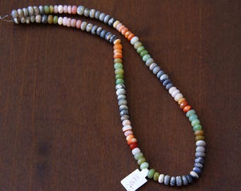 Mixed Color Opal Strand - STONE 033