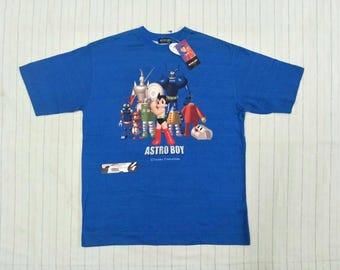 Vintage Astro Boy Tshirt Made in Japan Nos/Bnwt