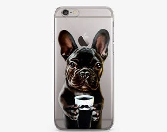 Dog Coffee Print Cute Phone Case iPhone 7 Plus Case iPhone 6S Plus 5S Case to Samsung Galaxy S6 Edge Case Animals Phone Galaxy S7 Case c200