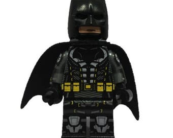 Custom LEGO minifigures -  Batman Tactical Suit Made with Original LEGO Parts