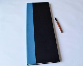 Casebound Very Tall Notebook, Handbound, Multi-sectioned
