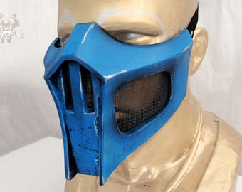 Sub-Zero Mortal Kombat Mask Replica Forjadict3d. Fan Art.