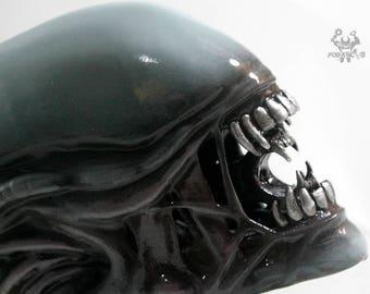 Alien Xenomorph 1:2 Drone Head Replica  Forjadict3d. Fan Art.