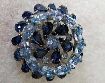 Gorgeous Blue Brooch