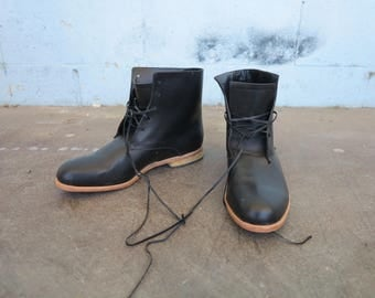 SAMPLE SALE - High Derby Boot - size 9/9.5 US Womens