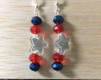 Fourth of July Earrings Part II
