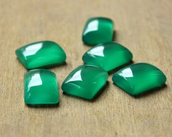 Natural rectangle Green Onyx cabochon calibrated size:4x6,5x7,6x8,7x9,8x10,9x11,10x12,10x14,12x16,13x18,15x20,16x22,18x25,20x30 mm available