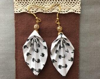 VitiKoula Origami White earrings