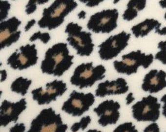 Cheetah Fleece Tied Blanket