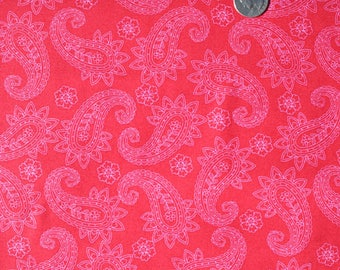 tissu PATCHWORK PAISLEY QUILTING TREASURES